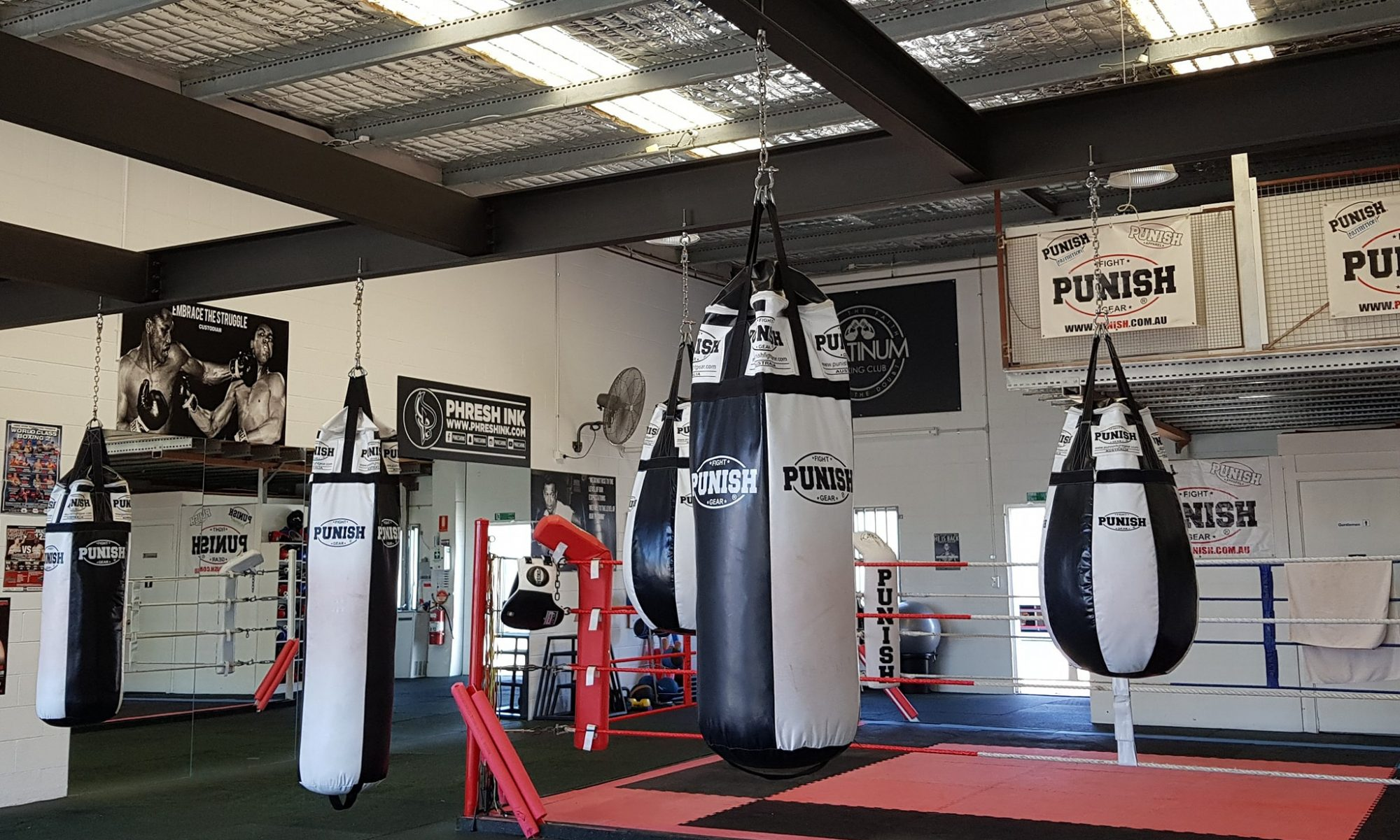 Platinum boxing club – Feed the Faith, Starve the Doubt